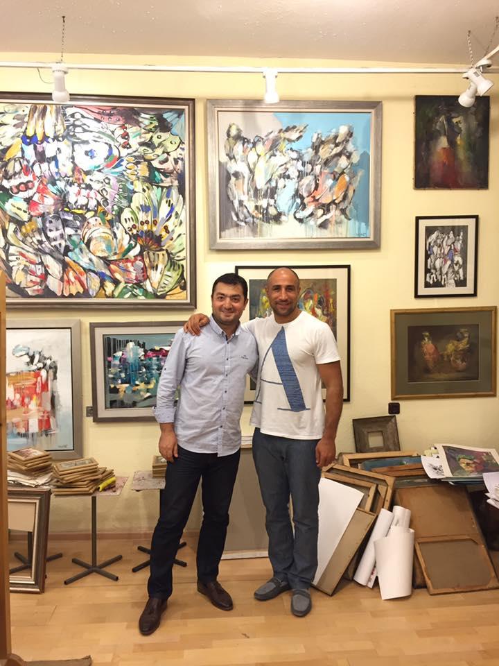 На этот раз гостем Студии Искусств «Даниелян» стал боксёр-профессионал Артур Абрахам