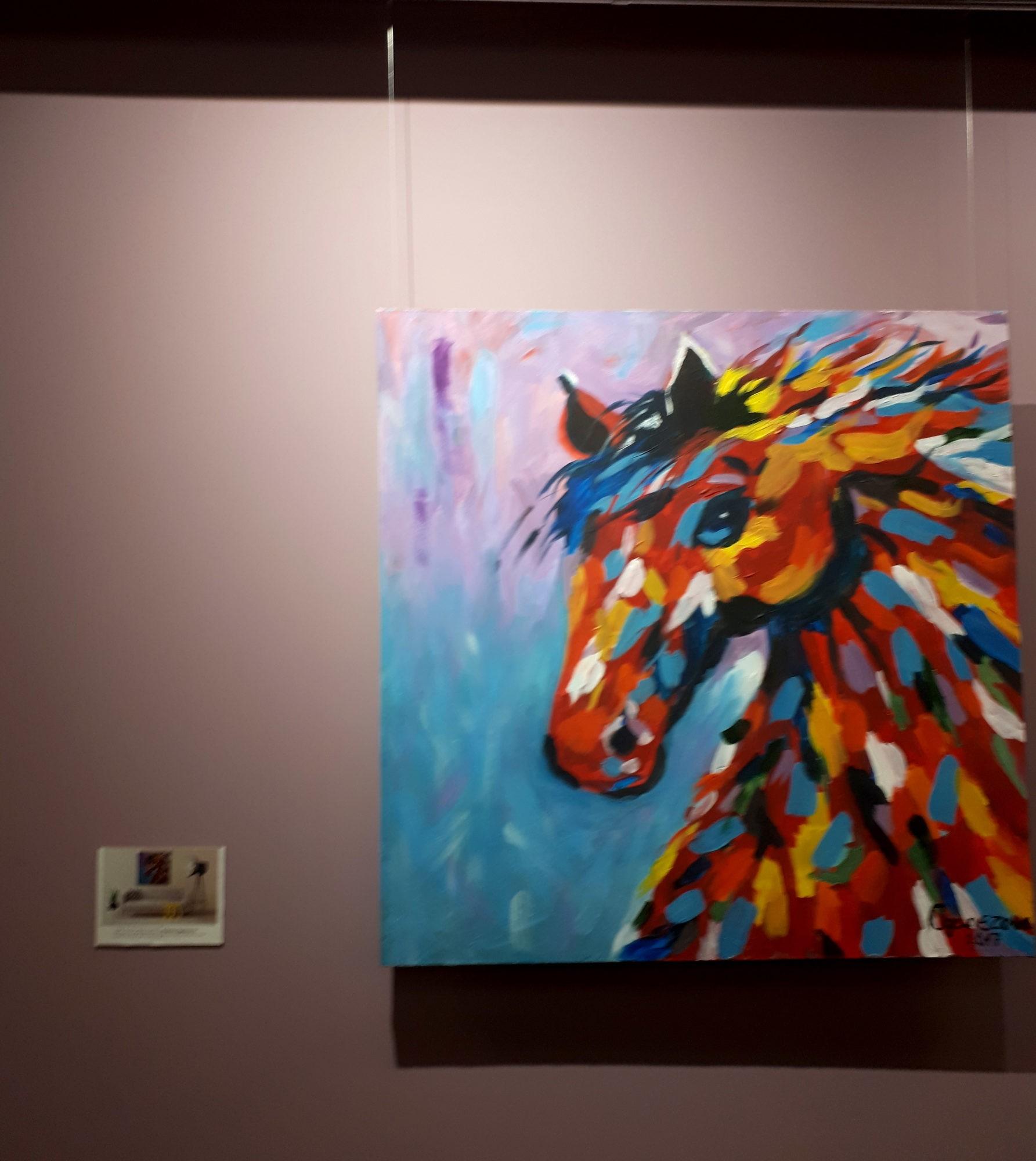 "Kristina Oganezova's  «Coloured Mood» art exhibition will take place at leisure multifunctional center ""Loft""."