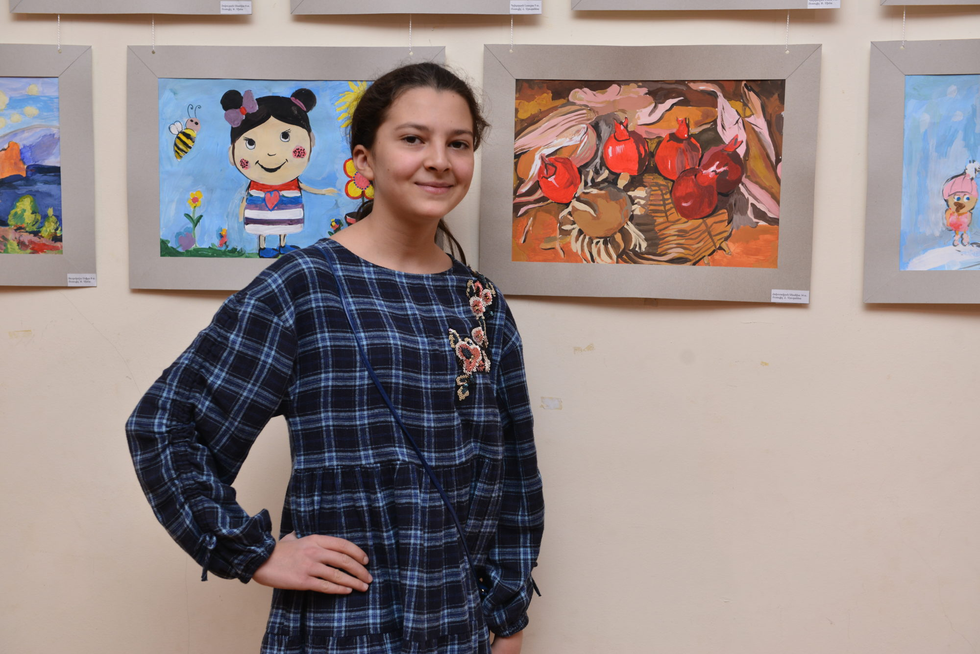 "Solemn Opening of The Annual Reporting Exhibition of The Students of ""Danielyan Art Studio"" at The Artists Union of Armenia (VIDEO, PHOTO)"